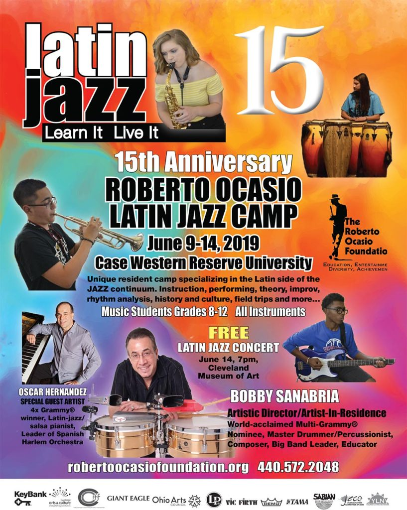 2019 Roberto Ocasio Latin Jazz Camp